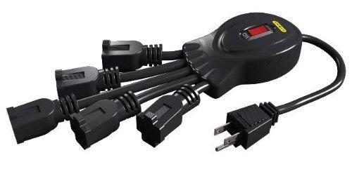 Generic YanHong-US3-151102-264 8yh2892yh r, Black, New Outlet Black, New PowerSquid 5 PowerSqui Multiplier, le Outlet Outlet Flexible Outlet F Black, New by Generic