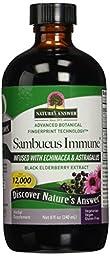 Nature\'s Answer Alcohol-Free Sambucus Immune Support, 8 Fluid Ounce