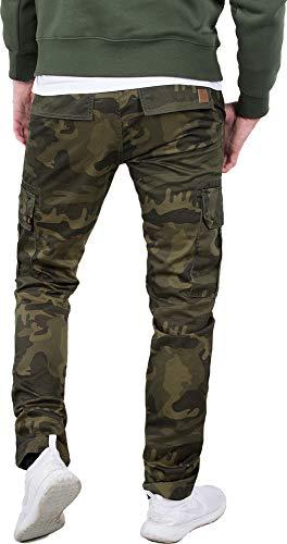 Camo uomo pantaloncini Industries e da Agent Alpha Pants Olive C Cargo Pantaloni qPgwTRxO