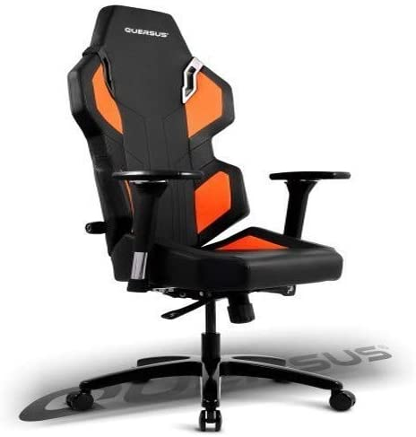 Quersus Evos 302 Siège Gamer, Simili Cuir, Noir Orange, SL