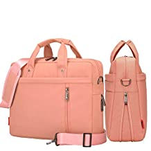 YiYiNoe Shoulder Bag for 17 inch Laptop Business Briefcase Waterproof Messenger Bags Pink