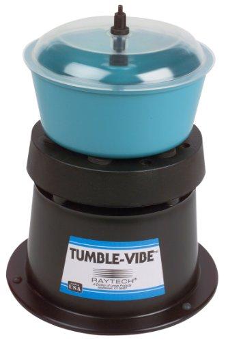 Raytech 23-001 TV-5 Standard Vibratory Tumbler, 0.05 Cubic feet Bowl Capacity, 115V, 60 Hz (Best Vibratory Tumbler For Brass)