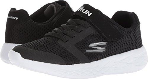 Skechers Kids Boys' GO Run 600-ROXLO Sneaker, Black, 1.5 Medium US Little ()