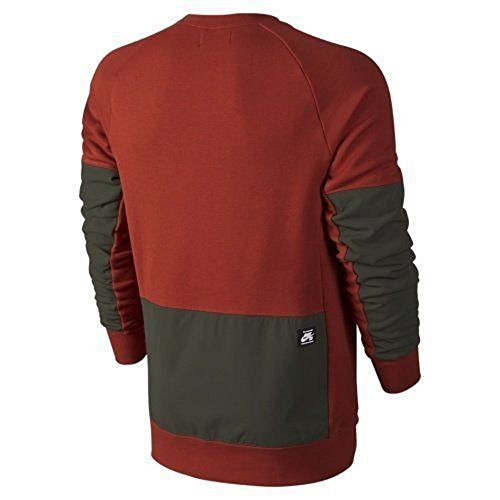 Nike Sb Men S Everett Overlay Pocket Crew Neck Sweatshirt 704853 663