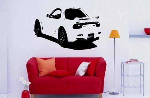 Vinyl Decal Mural Sticker Car 1999 Mazda Rx7 S997