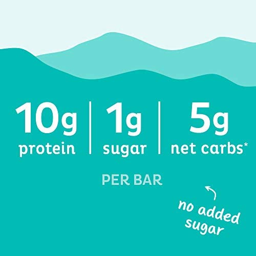 Quest Nutrition Sea Salt Caramel Almond Snack Bar, High Protein, Low Carb, Gluten Free, Keto Friendly, 12-Count 4