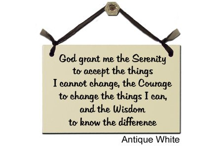 Wrapped In A Cloud Serenity Prayer-Decorative Sign S-208-W