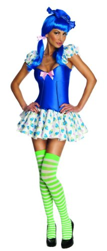 Secret Wishes Strawberry Shortcake Blueberry Muffin Costume, Multi, Small (Girls Blueberry Muffin Wig)