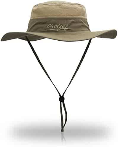 971c676bc75ad9 Outdoor Sun Protection Hat Wide Brim Bucket Hats UV Protection Boonie Hat  56-62cm