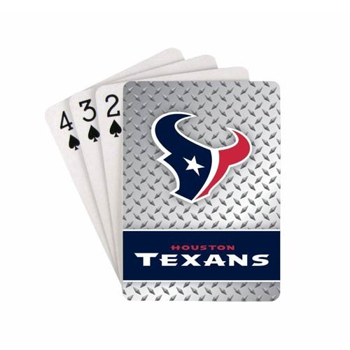 NFL Houston Texans Playing Cards - Nfl Gift Card