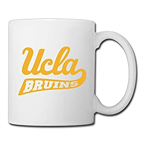 Christina NCAA UCLA Bruins Logo Ceramic Coffee Mug Tea Cup White