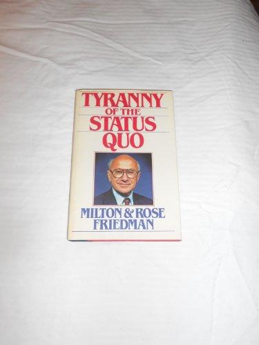 tyranny of the status quo pdf