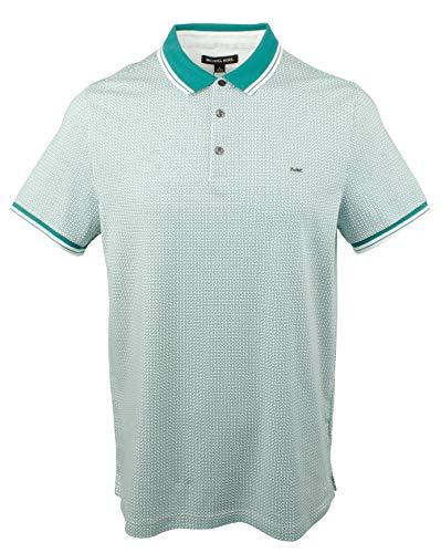Michael Kors Men's Printed Polo Shirt-J-M (Kors Shirts Mens Micheal)