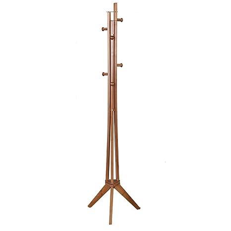 JZX Perchero para el Hogar Perchero de Bambú Estante para la ...