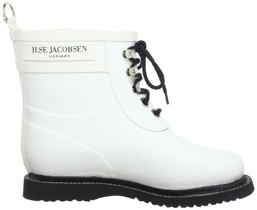 ILSE JACOBSEN Women's Rub 2 Rain Boot White