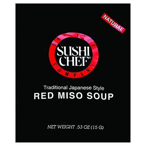 SUSHI CHEF SOUP MISO RED, 0.53 OZ (Pack of 24)