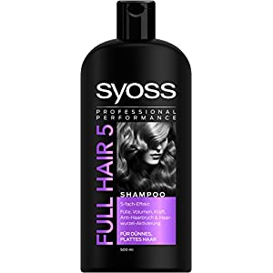 Shampoo Syoss Full Hair 5, 500 ml