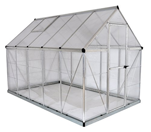 Palram Nature Series Hybrid Hobby Greenhouse - 6' x 10' x 7', ()