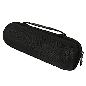 Khanka EVA Carrying Storage Travel Hard Case Cover Bag for Amazon Tap Wireless Bluetooth Speaker. Extra Room For Amazon Tap Charger and Cradle. Fits Amazon Tap Sling Cover