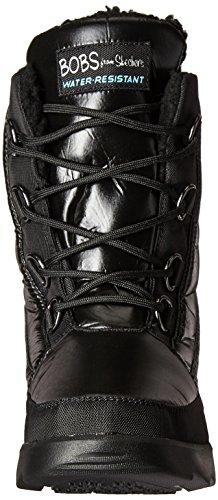 Para mujer Botas, color negro, marca Skechers, Modelo–Botas para mujer Skechers 49226s Cordero Negro NEGRO