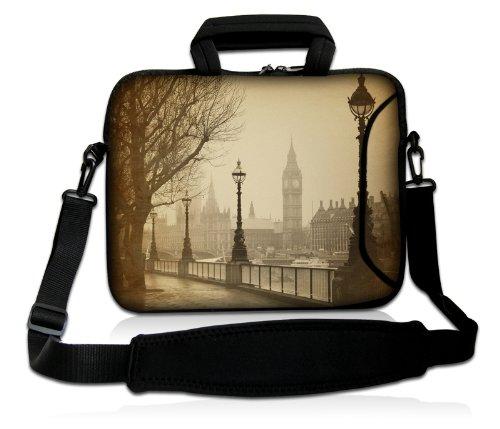 Pedea Design Schutzhülle Notebook Tasche 15,6 Zoll (39,6cm) mit Schultergurt Big Ben
