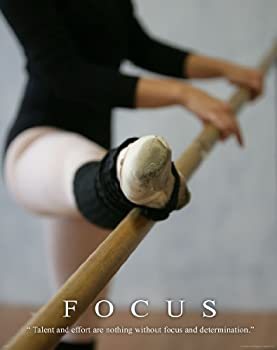 Ballet Dance Studio Ballerina Motivational Poster Art Print 11 X 14 MVP250