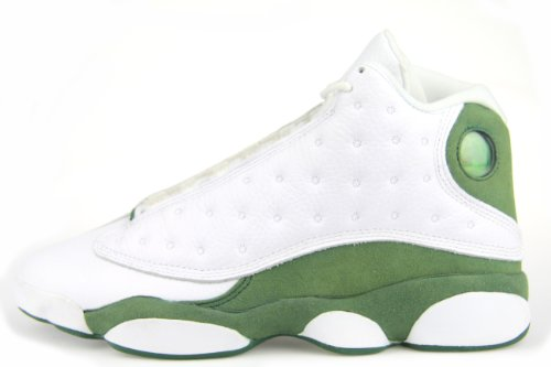 "new arrival f1710 bc371 Man s Nike Air Jordan 13 xiii Retro ""Ray Allen Pe"" 2011 White   Clover  414571-125 Sz 8"