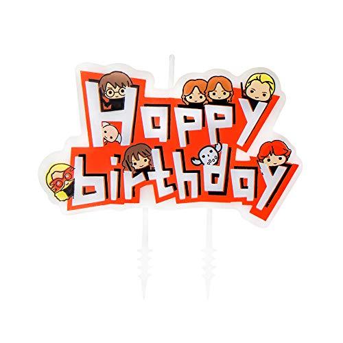 Cinereplicas Velas de cumpleaños Harry Potter - Kawaii (Juego de 10 + 1 Happy Birthday)