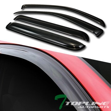 02 rain visors with sunroof visor - 2