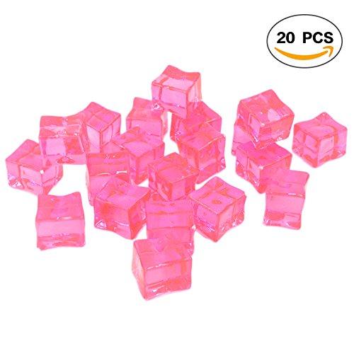 Pink Acrylic Ice - 2