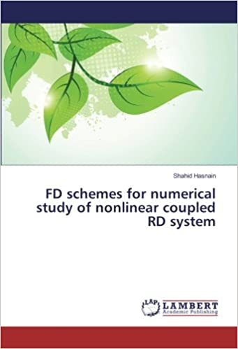 FD schemes for numerical study of nonlinear coupled RD system