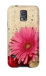 ZippyDoritEduard Premium Protective Hard Case For Galaxy S5- Nice Design - Pretty Zignia Flowers