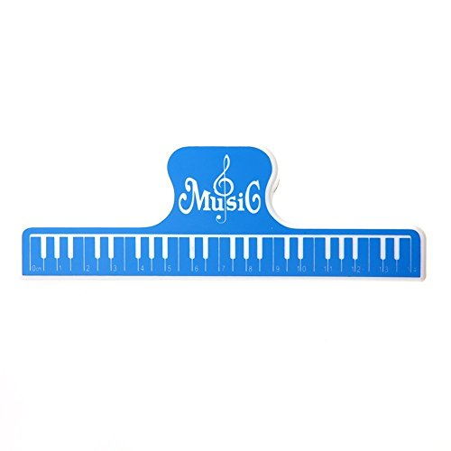 Music Book Clip,Book Holder Page Holder,Paper Clip (MG-22 - Sunglasses Grover