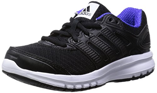 adidas Duramo 6 K, Chaussures de running garçon Nero (Nero (Core Black/Core Black/Night Flash S15))