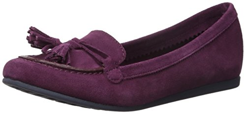 Crocs Mujeres Lina Suede Slip-on Loafer Plum