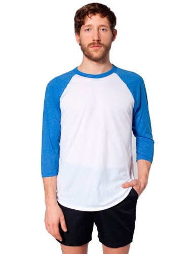 Apparel shirt Blue American Homme Lake heather T Bianco T46zqyPqc