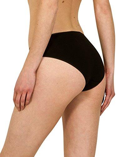6 De London High black Culotte Noir Femme lot Fm Leg Bow ac0pwqff