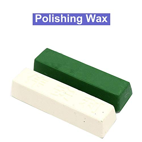 Maslin 1PCS Abrasive Polish Wax Jewelry Polishing Paste Buffing Compound Knife Sharpener Metal Iron Grinding Polishing Wax - (Color: Large White)