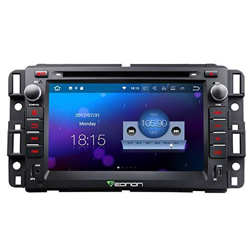 Double Din Car Stereo,7 Inch Eonon in Dash Android 7.1 Car Radio,2GB +16GB Quad-core Car Android Head Unit Applicable to Chevrolet GMC Silverado Express Avalanche Acadia Impal-GA8180
