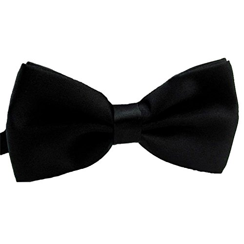 2016 Male Fashion Bow Tie For Wedding or Party Mens Toddler Youth Boys Women Dog Black, One Size]()