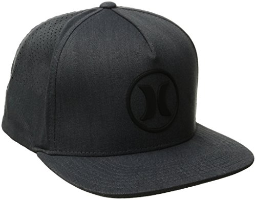 Hurley MHA0005950 Mens Dri-Fit Icon 2.0 Cap, Black-OS (Icon Hurley)