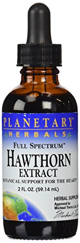 Planetary Herbals Full Spectrum Hawthorn Liquid Extract Supplement, 2 Fluid Ounce - 41nC4K0tSSL - Planetary Herbals Full Spectrum Hawthorn Liquid Extract Supplement, 2 Fluid Ounce