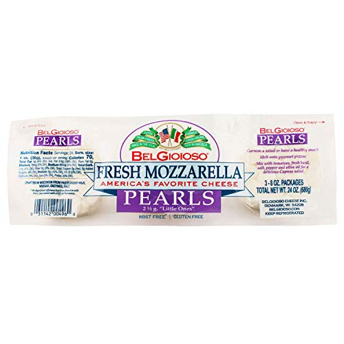 BelGioioso Fresh Mozzarella Cheese Pearls, 8 oz, 3 Count