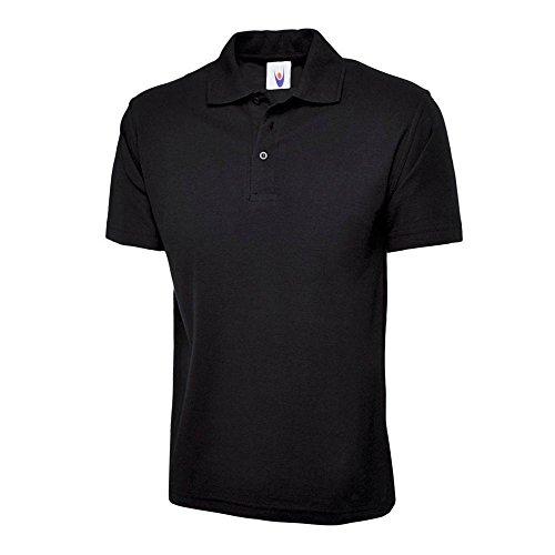 Uneek UC105schwarz–SM schwarz Polo Shirt