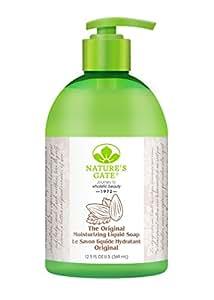 Natures gate, the Original Moisturizing Liquid Soap, 12.5 FL Ounces, 369 milligrams Pack of 4 Bottles.