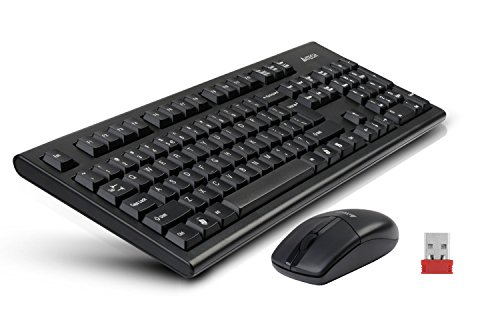 A4Tech 2.4G VTrack USB Mouse and Wireless Keyboard ()