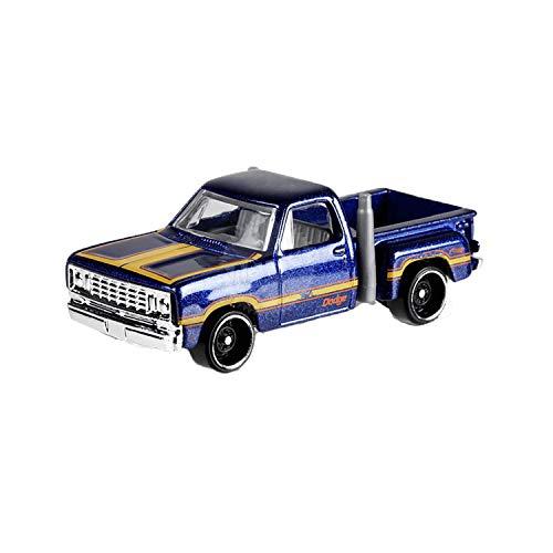 Hot Wheels 2019 Hw Hot Trucks 55/250 - 1978 Dodge Lil Red Express Truck (Dark Blue)