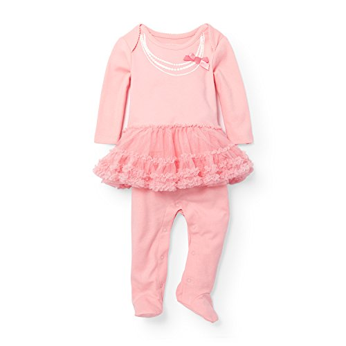 The Children's Place Baby Girls' Sleep 'N Play Romper, Whisp