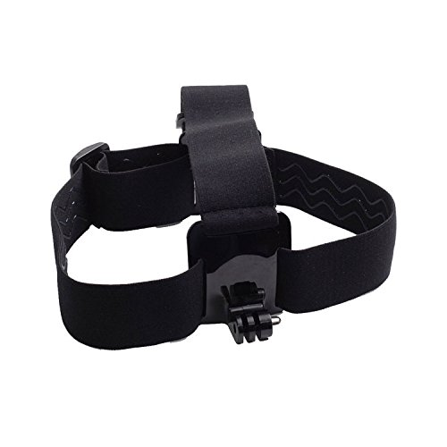 Elastic Action Camera Head Strap Mount for Gopro, AKASO, APE