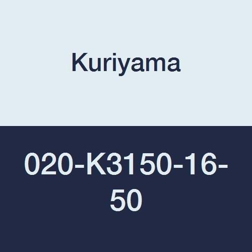 Yarn 020 (Kuriyama 020-K3150-16-50 CLEARBRAID K3150 Series RF Standard Wall Clear Yarn Reinforced PVC Food and Beverage Hose, 1